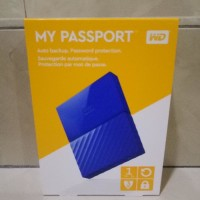 Jual WD My Passport 2017 ULTRA New Design 1TB /USB 3.0/2.5 Inch - Blue Murah