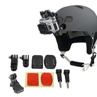 Jual TERLARIS - Helmet Front Mount Kit 3M For Xiaomi Yi,GoPro,Sjcam,B Pro Murah