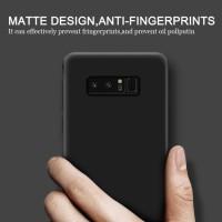 Jual Case Samsung Galaxy Note 8 Matte Ultra Slim Black Matte Slim Fit Note8 Murah