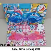 Jual KACAMATA RENANG HELLO KITTY / DORAEMON / 260 Murah