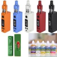 Jual Paket Rokok Elektrik Siap Ngebul Evic Vtwo Mini + Baterai + Liquid Murah