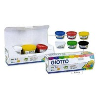 Jual Finger Paint GIOTTO / Cat Tangan Bermutu Murah