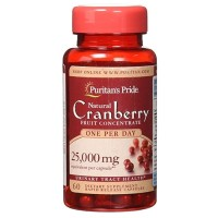 Jual Puritans Pride Natural Cranberry Extract 25000mg 60 Tablets Murah