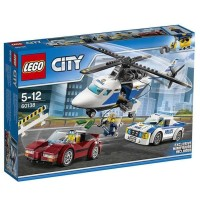 Jual Lego City High Speed Chase - 60138-Multi Warna Murah