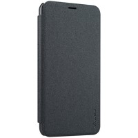 Jual Nillkin Sparkle Leather Case - Meizu M2 Note (Black) Murah