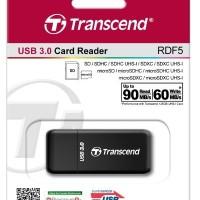 Jual [New] Transcend RDF 5 USB 3.0 Card Reader Murah