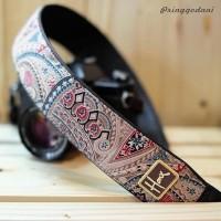 Jual Strap Kamera Batik | Etnik Pringgodani Murah