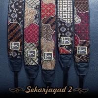 Jual Strap Kamera Batik | Etnik SEKARJAGAD 2 Murah