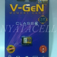 Jual Memory Vgen 16GB Class 6 / 16 GB /Micro SD/Card/Memori/Kelas 6/Packing Murah