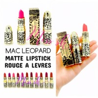 Jual MAC LEOPARD Matte lipstick Rouge a Levres Murah
