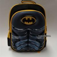 Jual (Diskon) Tas Ransel Sekolah Anak SD Karakter SUPERHERO BATMAN Murah