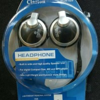 headphone clarion MDR520 digial stereo sound, headset/earphone