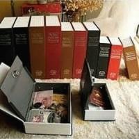 Jual harga termurah Booksafe besar 265 x 197 x 65 mm ( Buku BranKas Besar ) Murah