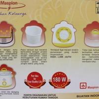 Jual (Murah) Maspion Slow Cooker MSC-1825 (00152.00020) Murah
