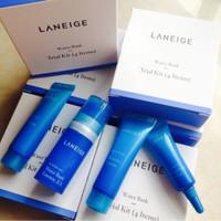 Jual (Diskon) Laneige Water Bank Trial Kit (4items) Murah