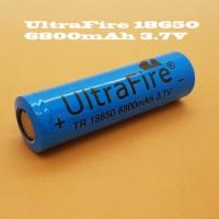 Jual Baterai 18650 UltraFire 6800mAh Original Vapor Vaporizer Vape battery Murah
