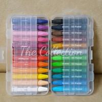 ATK116GB (isi 24 Transparant) Crayon GREEBEL Oil Pastels 24 warna kado