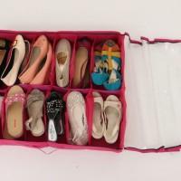 Jual special edition SCO 12 - Shoe Case 12 sekat Murah
