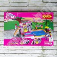 Jual Diskon Besar Lego Cogo Brick 4514 - Dream Girls Pool / Kolam Renang Murah