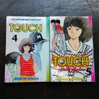 Diskon Besar Komik Touch (Adachi Mitsuru) Cabutan - Bekas