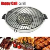 Jual #Ec051 - Bbq Happy Call Roaster Grill 32Cm Pemanggang Magic Roaster Murah