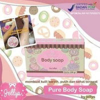 Jual Bpom Body Soap Jelly / Sabun Pure Soap Bpom Murah