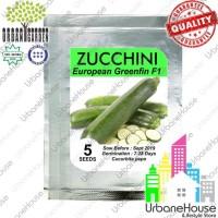 Nomor 1 Vegetable - Benih Sayuran Zucchini European Greenfin F1 Import