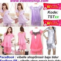Diskon Tstxx - Vibelle Shop Grosir Baju Tidur Satin Piyama Baby Doll