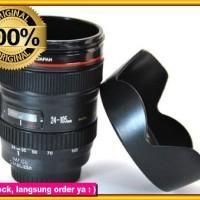 Gelas Lensa Kamera Canon Hood Lid Mug Lens Cup Cuplens 24-105 Mm