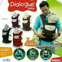 Jual Dialogue Gendongan Bayi Ransel Ergo 3 in1 DGG 4130 Limited Murah