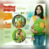 Jual Dialogue Baby DGG 4229 Gendongan Rangsel Ergo Polka Series Diskon Murah