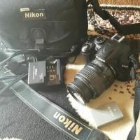 NIKON D3000 CAMERA DSLR SECOND Premium sport elegant mewah best