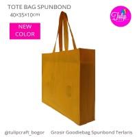 Per 12pc Tas Spunbond 40x35x10cm Kotak Polos  Totebag Goodiebag