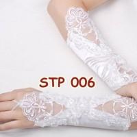 Jual Sale Sarung Tangan Lace Pesta Pengantin L Aksesoris Wedding Gloves - Murah