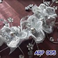 Jual Sale Aksesoris Headpiece Rambut Kebaya Modern L Hairpiece Lace Pesta- Murah