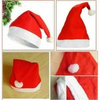 Jual Topi Natal Santa Christmas Untuk orang dewasa ( adult ) Murah