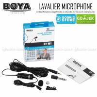 Jual Boya Clip-On Microphone BY-M1 for DSLR, Smartphone, Camcorders & PC Murah