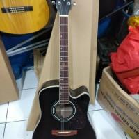 Gitar Akustik Elektrik Eq Yamaha F335BL Blackdoff Murah