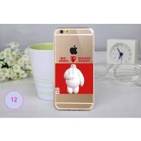 Jual Big Hero Silicon + TPU Case iPhone 6 Plus - TPU33  Murah
