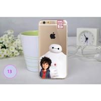 Jual Big Hero Silicon + TPU Case iPhone 6 Plus - TPU34  Murah