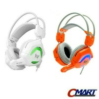 Kotion Headset Gaming Each GS200 with LED Gamers Headphone - KTN-GS200