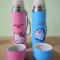 Jual Termos Karakter Stainless Doraemon Hello Kitty Botol Minum 500ml B45   Murah