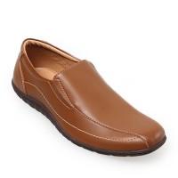 Jual Edberth Sepatu Formal Pria Acerra - Brown Murah