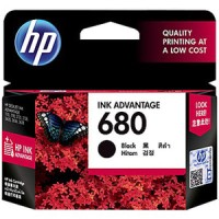 TINTA 680 BLACK / HP INK ADVANTAGE 680 HITAM ORIGINAL