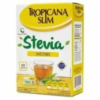Tropicana Slim Stevia Sweetener isi 50 / 130 g