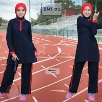 Pakaian Olahraga Wanita, Baju Olahraga Ukuran Besar, Baju Muslim