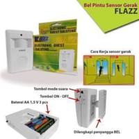 Bel alarm Pintu SENSOR GERAK / Electronic Guest Saluting