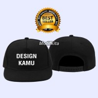 Topi Snapback custom design suka suka keren pria wanita motifkita