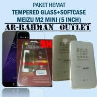 Jual  ultrathin softcase  anti gores tempered glass meizu m2 mini  T2909 Murah