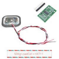 Weight Sensor 50Kg Load Cell Module Hx711 24bit ADC gain amplifier